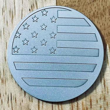 ARGOLF US Flag Ball Marker