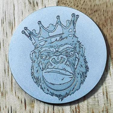 ARGOLF King Gorilla Ball Marker