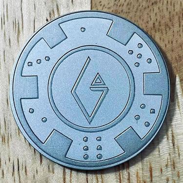 ARGOLF Poker Chip Ball Marker