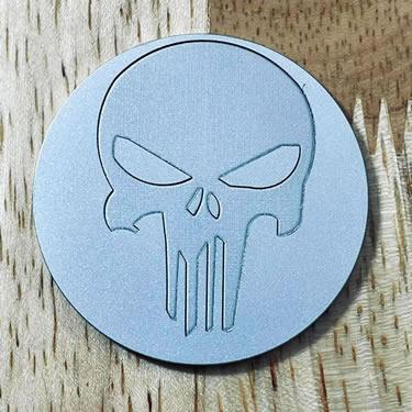 ARGOLF Skull 1 Ball Marker