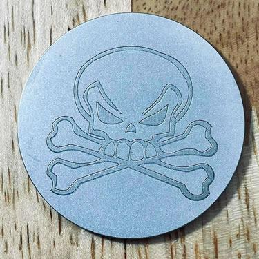 ARGOLF Skull 2 Ball Marker