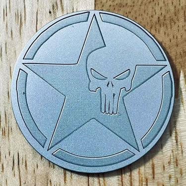 ARGOLF Texas Skull Ball Marker